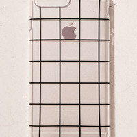 Grid On You iPhone 7 Plus/6 Plus Case - Urban Outfitters