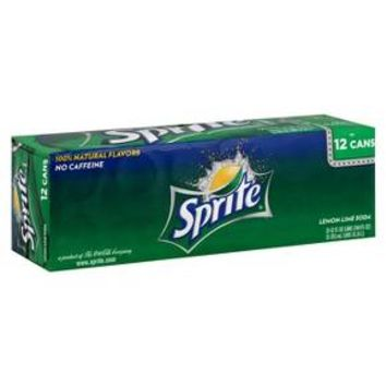 Sprite Lemon Lime Soda 12 oz, 12 pk