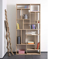 Solid Oak Bookcase M1