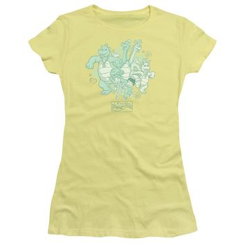 Dragon Tales - Group Celebration Premium Bella Junior Sheer Jersey
