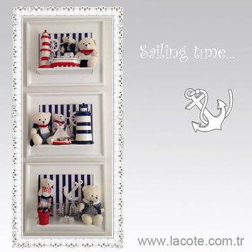 Nautical,  nursery art, baby boy nursery decor, sailing ,  baby boy nursery decor,baby boy, baby girl, baby gifts, ,baby room decor