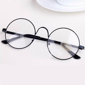 723a3fa2ea Glasses Frames Round Spectacle For Harry Potter Glasses With Cle