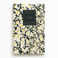 Gold Foil Any-Year Daily Planner - Daisy