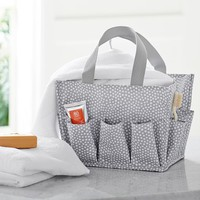 Essential Bath Beauty Set, Mini Dot, Grey