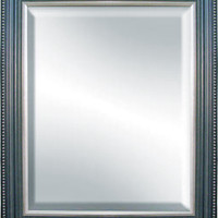 Hanging Wall Mirror with Wood Frame 16 in. x 20 in.