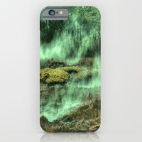 Greenish Land iPhone & iPod Case by Wowpeer