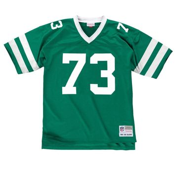 Joe Klecko New York Jets Men's NFL Mitchell & Ness Premier Green Jersey