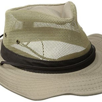 Pendleton Men's Shapeable Hiker Hat, Khaki, Large