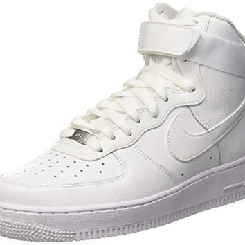 Nike Mens Air Force 1 High 07 Basketball Shoes White/White 315121-115 Size 9.5