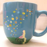 Tangled Floating Lanterns Mug