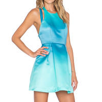 Lovers + Friends x REVOLVE Mega Fit & Flare Dress in Turquoise