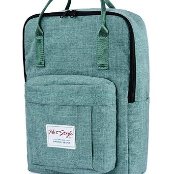HotStyle Basic Classic - Bestie Cute Waterproof Diaper Bag Backpack for Mom - Green