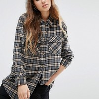 Reclaimed Vintage Checked Boyfriend Shirt at asos.com
