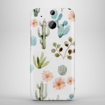 Cactus plant drawing painting phone case cover for mobile cell phone telephono