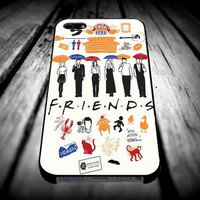 Friends TV Show collageiPhone 4/4s/5/5s/5c/6/6 Plus Case, Samsung Galaxy S3/S4/S5/Note 3/4 Case, iPod 4/5 Case, HtC One M7 M8 and Nexus Case **
