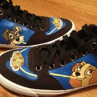 Lady and the Tramp Hand Painted Shoes