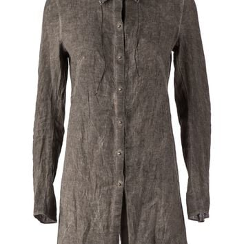 Isaac Sellam Experience Distressed Oversize Shirt