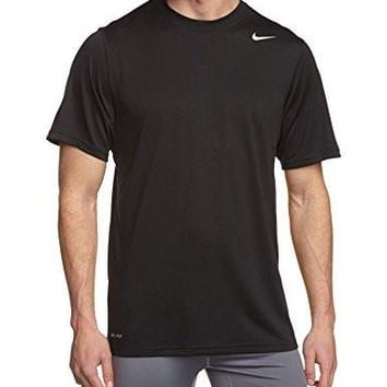 Nike Black Legend Dri Fit Poly Short Sleeve Top (S=36)