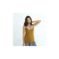 Knitted Tank Top, Mustard