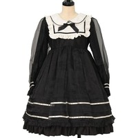 ステラワンピース | Angelic Pretty | One Piece | w-27508 | Wunderwelt Online Shop - Gothic & Lolita Second-hand Clothing