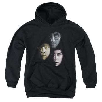 Harry Potter - Hero Heads Youth Pull Over Hoodie