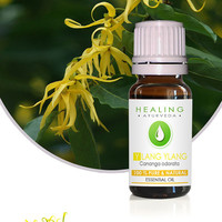 Ylang ylang- 100% pure essential oil- Cananga Odorata - Hair care- Flower essential oil- Skin care- Therapeutic essence-oil-Natural tonic