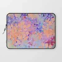 summer flowers Laptop Sleeve by Marianna Tankelevich