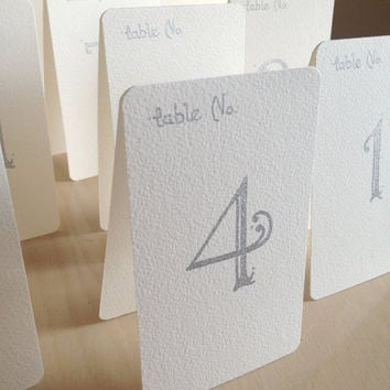 Custom Calligraphy Wedding Table Place Cards