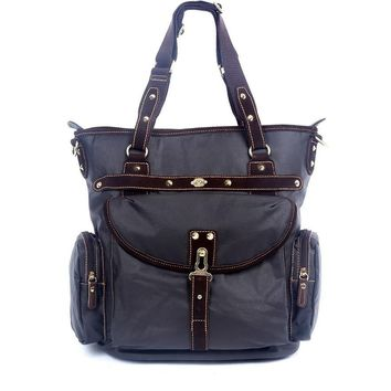 Dolphin Studded Tote