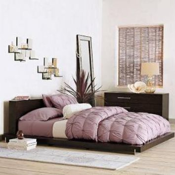 terra bed frame west elm