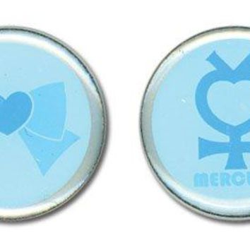 Sailor Moon Earrings - Sailor Mercury