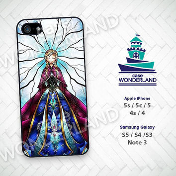 iPhone Case, Disney Princess, Frozen, Glass, iPhone 5 case, iPhone 5C Case, iPhone 5S case, iPhone 4 Case, iPhone 4S Case, Skin, SGP23