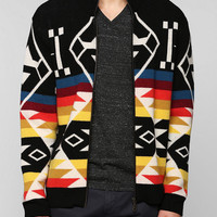 Tom & Hawk Rob Otter Zip-Up Sweater - Urban Outfitters
