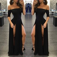 Women's Sexy Formal Long Prom Dress