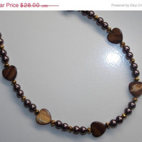 33%OFF Brown Heart Necklace