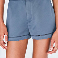Silence + Noise Breanne Satin Short - Urban Outfitters