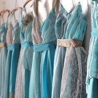 Individual Final Payments for Alisa Pannell's Custom Bridesmaids Dresses (Thicker Straps)