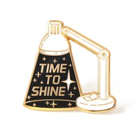 Time To Shine Enamel Pin
