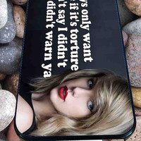 blank space taylor swift for iPhone 4/4s/5/5S/5C/6, Samsung S3/S4/S5 Unique Case *95*