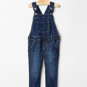 Gap Baby 1969 Button Tab Denim Overalls