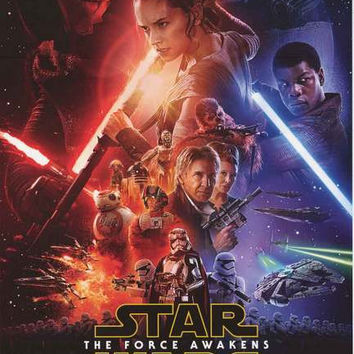 Star Wars The Force Awakens Movie Poster 24x36