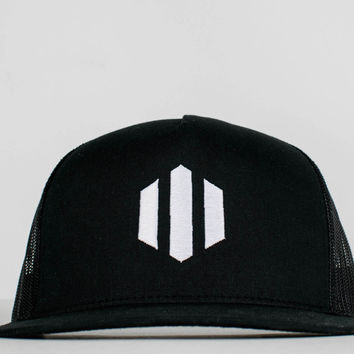 Original Midnight Black Trucker Hat