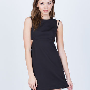 Strappy Classic Cut Out Dress