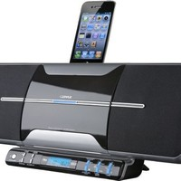 Pyle Home PICD65I iPod/iTouch/iPhone Flat Panel Motorized Vertical FM Radio CD Sound System (Discontinued by Manufacturer)
