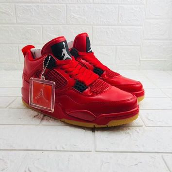 "Air Jordan 4 Retro ""Singles Day"" AJ4 Sneakers - Best Deal Online"