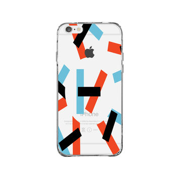 Twenty One Pilots Logo iPhone 6 Plus Clear Case