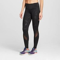 Women's Embrace Must Have Tights with Mesh - Black - C9 Champion®