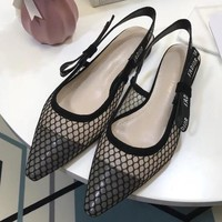 Dior 2018 Women Fashion Simple Casual  Flats Shoes