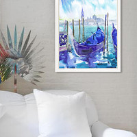 Venice Italy art, watercolor painting, italian wall decor, Venetian canal, art print, Illustration, landscape painting , Venezia, waterfront
