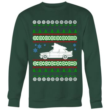 BMW E30 new M3 Premium Ugly Christmas Sweater Hoodie and Long Sleeve T-shirt